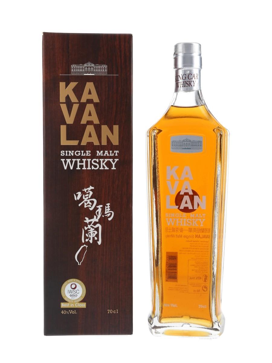 Kavalan Single Malt Bottled 2013 70cl / 40%