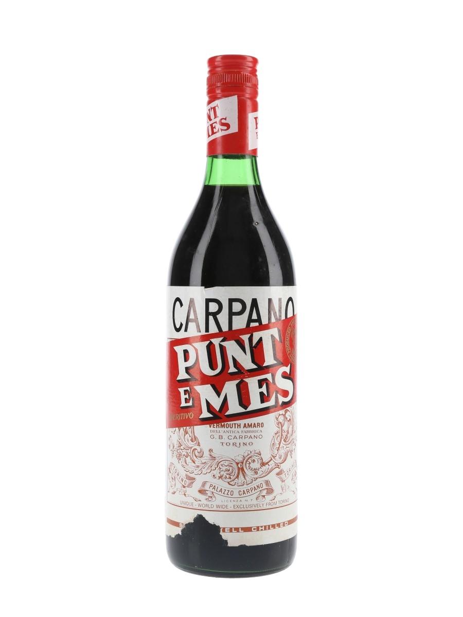 Carpano Punt E Mes Bottled 1970s 100cl