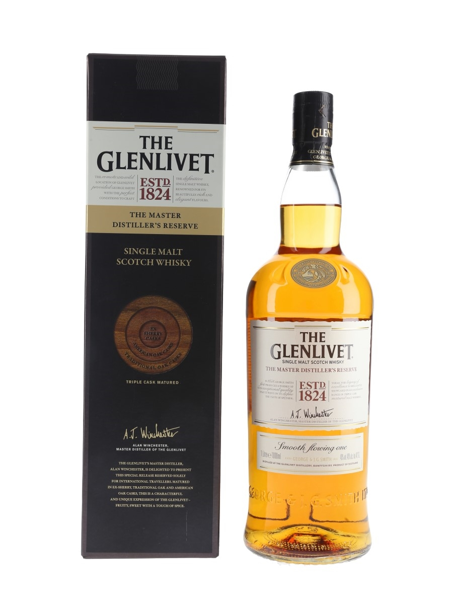 Glenlivet The Master Distiller's Reserve  100cl / 40%