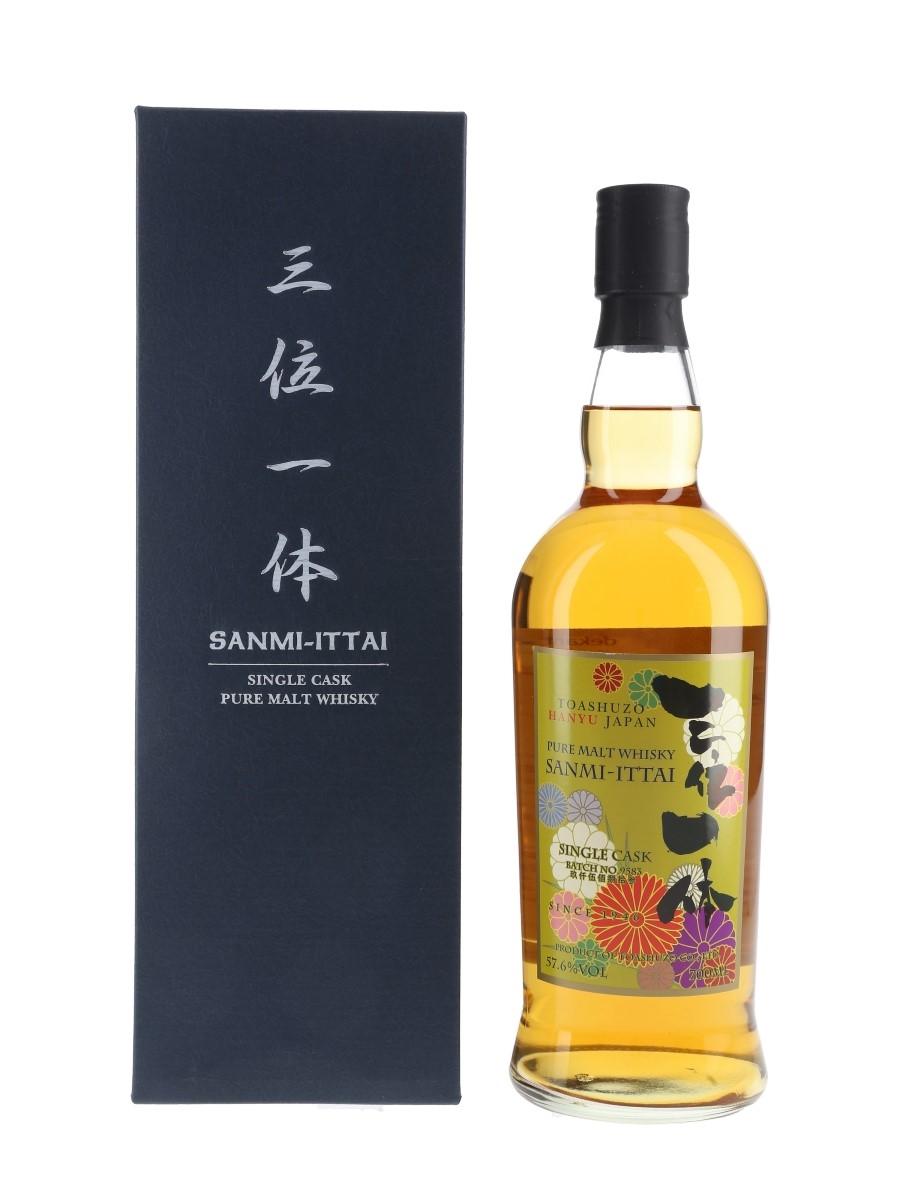 Sanmi Ittai Single Cask Batch No.9583 1st Edition Toashuzo Hanyu Japan 70cl / 57.6%