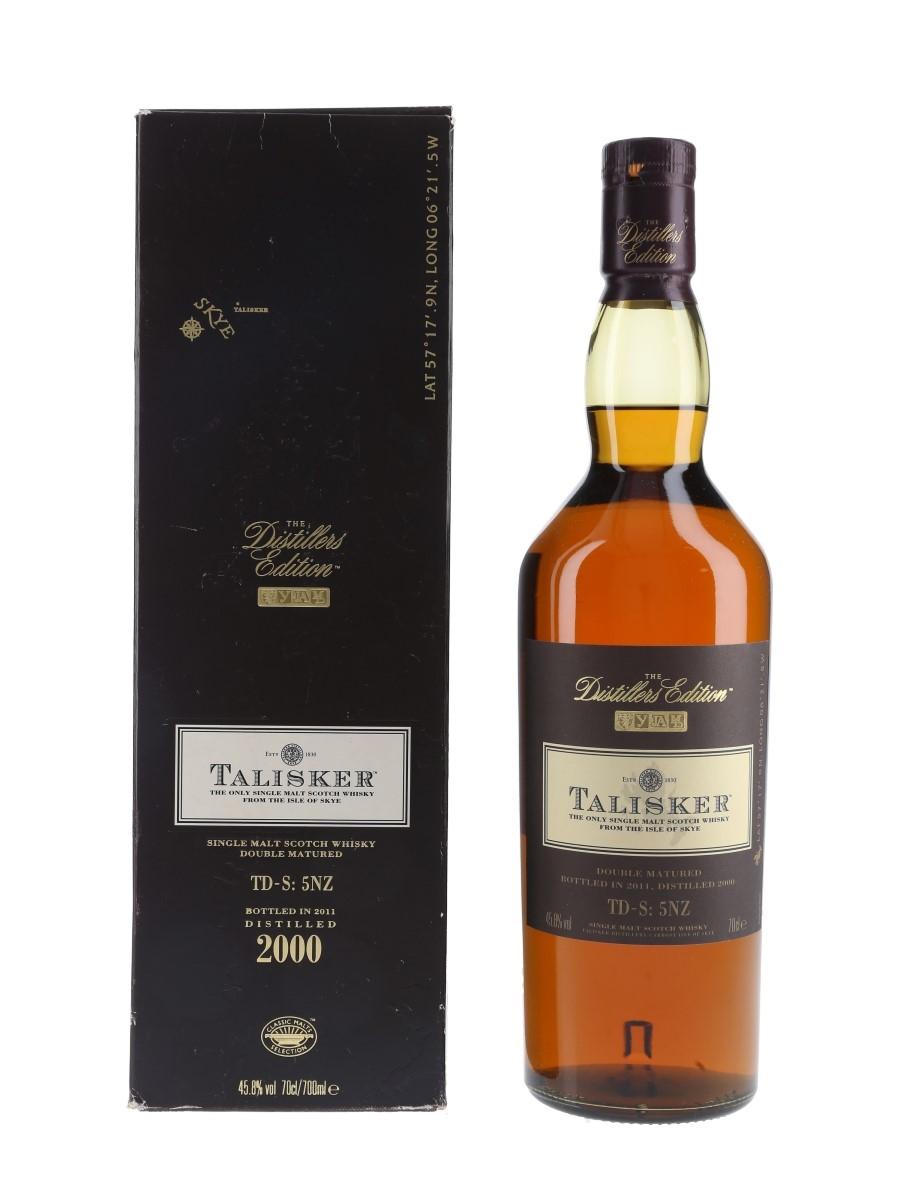 Talisker 2000 Distillers Edition Bottled 2011 70cl / 45.8%