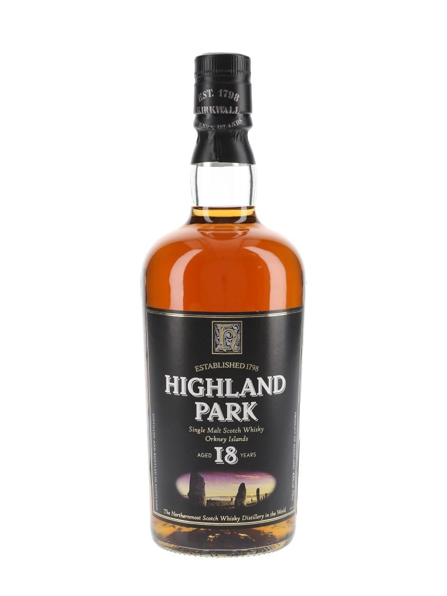 Highland Park 18 Year Old Bottled 2000s 70cl / 43%