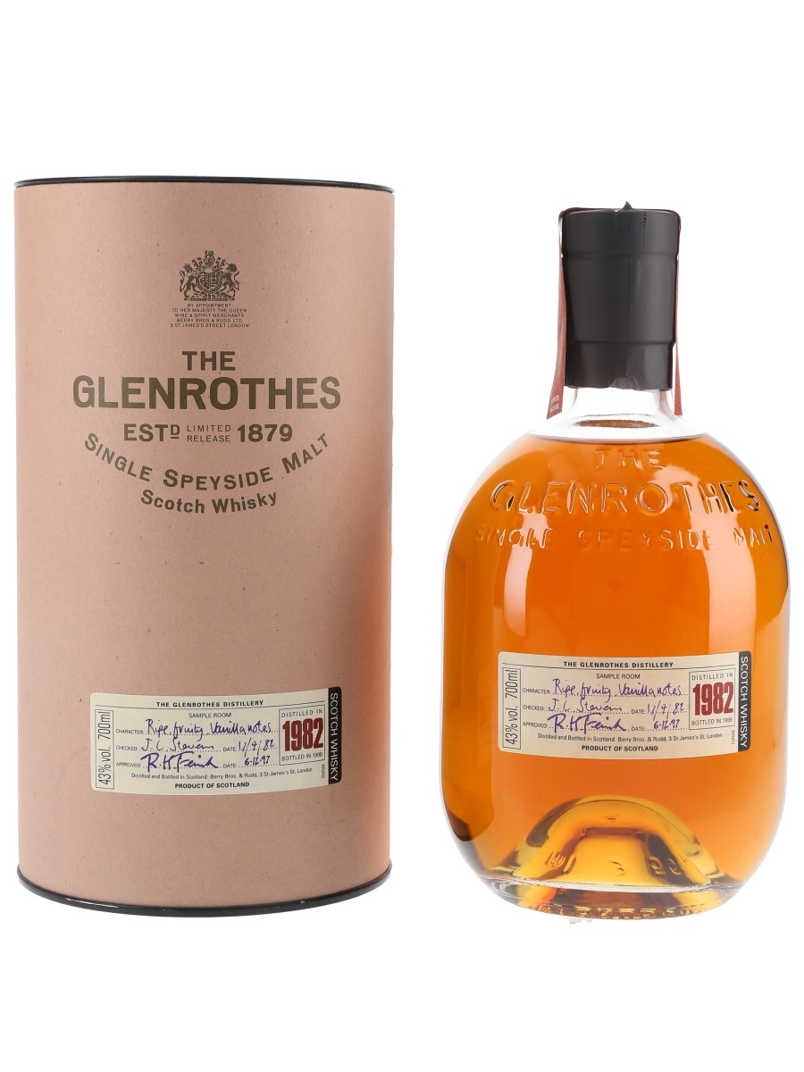 Glenrothes 1982 Bottled 1998 70cl / 43%
