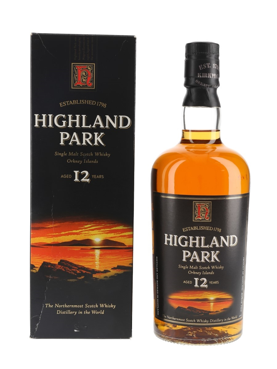 Highland Park 12 Year Old Bottled 1990s-2000s 70cl / 40%