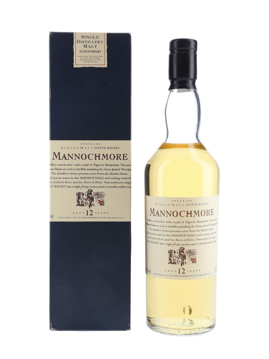 Mannochmore 12 Year Old Flora & Fauna 70cl / 43%