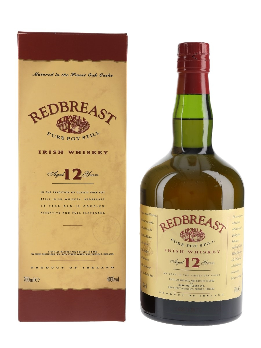 Redbreast 12 Year Old  70cl / 40%