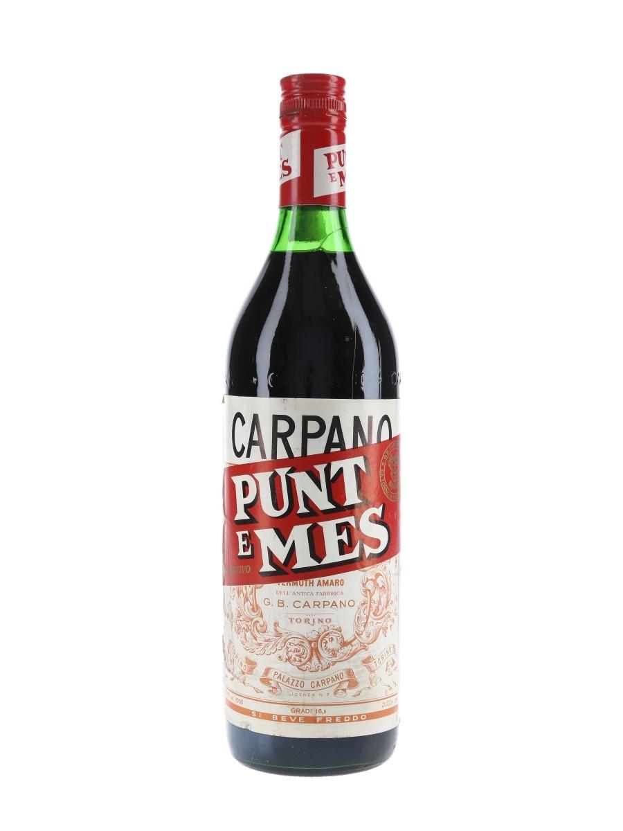 Carpano Punt E Mes Bottled 1970s 100cl / 16.5%