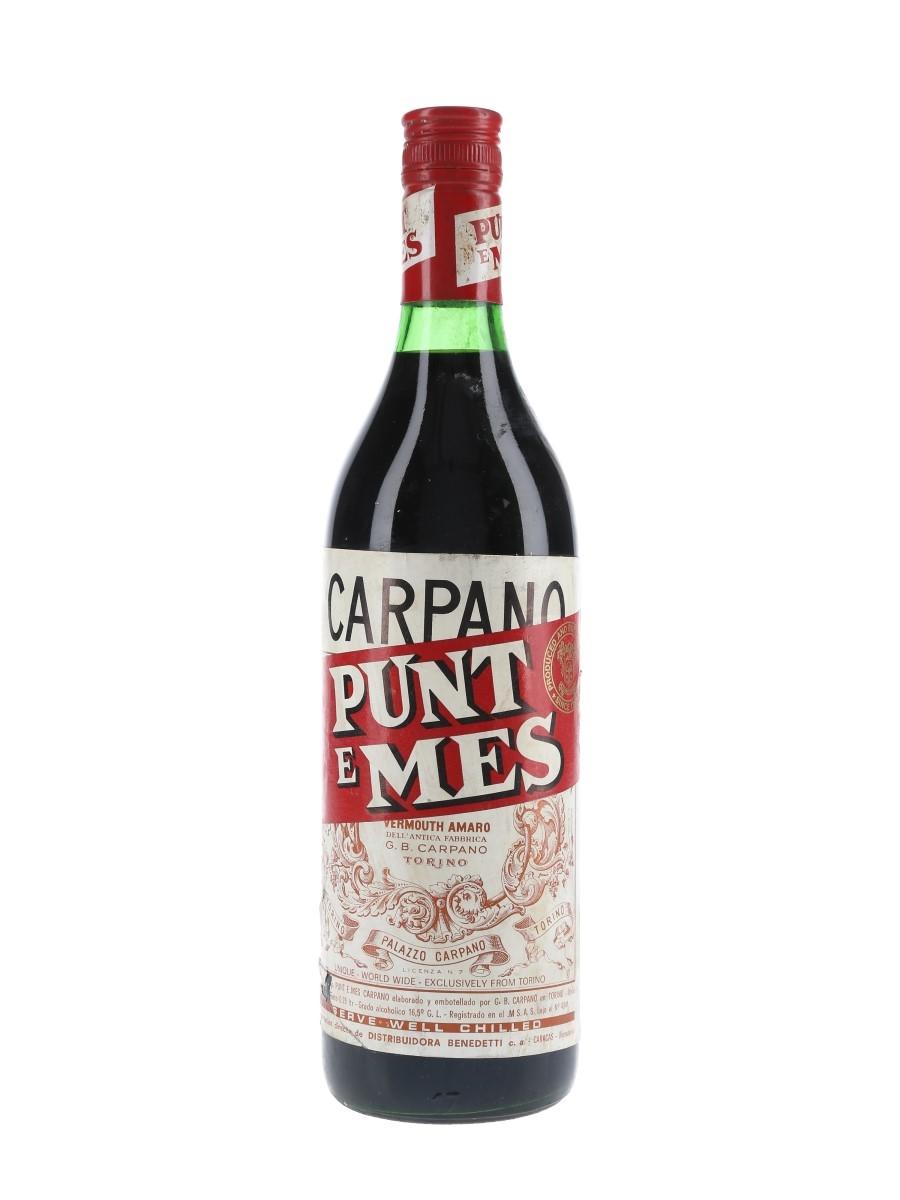 Carpano Punt E Mes Bottled 1970s - Benedetti 75cl / 16.5%