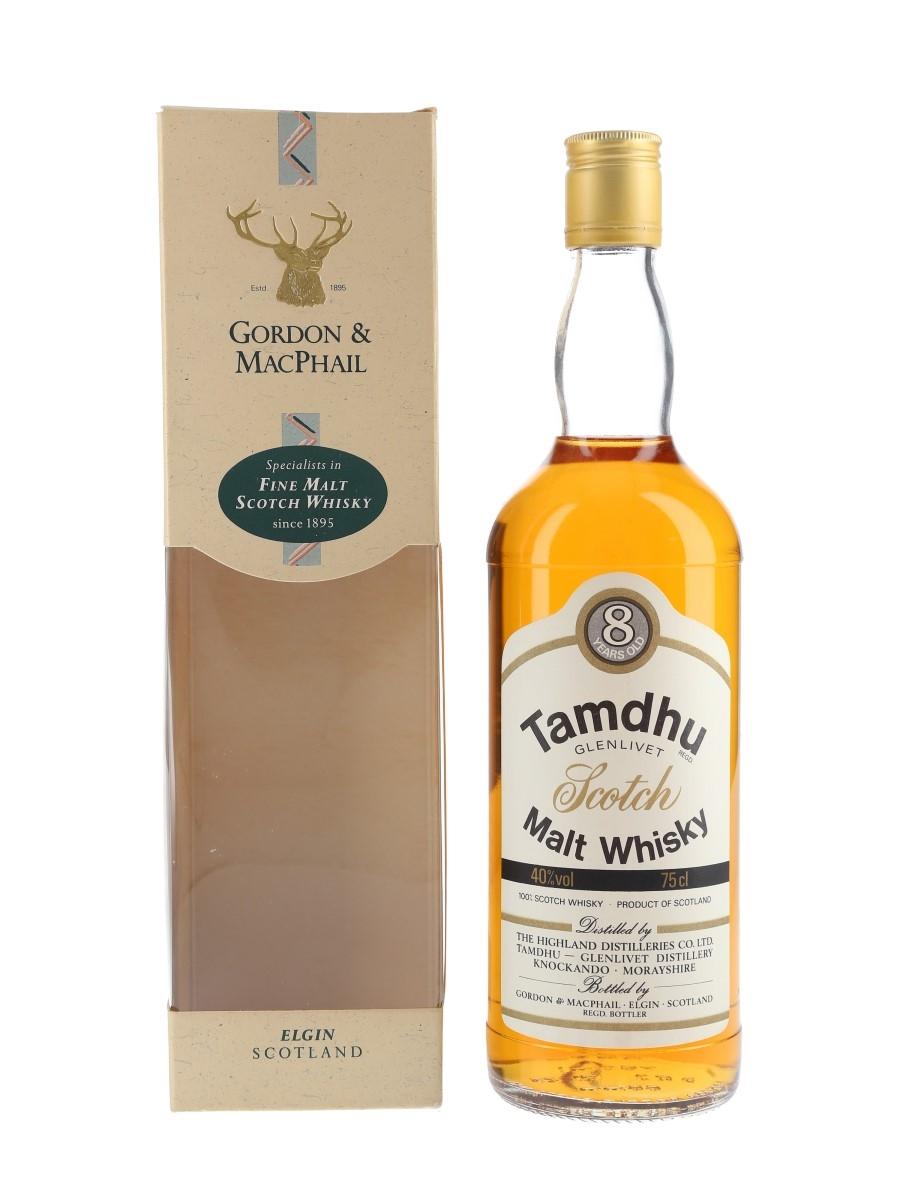 Tamdhu Glenlivet 8 Year Old Bottled 1980s - Gordon & MacPhail 75cl / 40%
