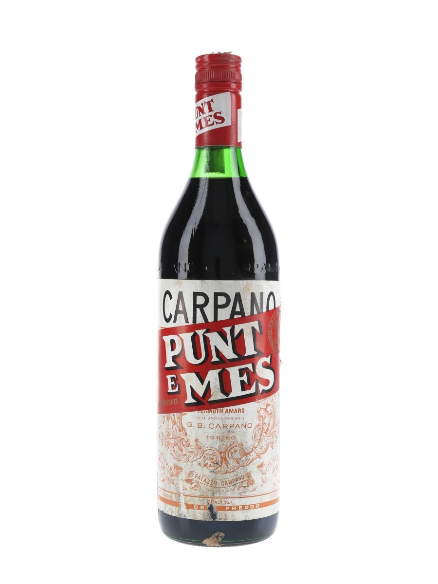 Carpano Punt E Mes Bottled 1970s 100cl / 16.5%