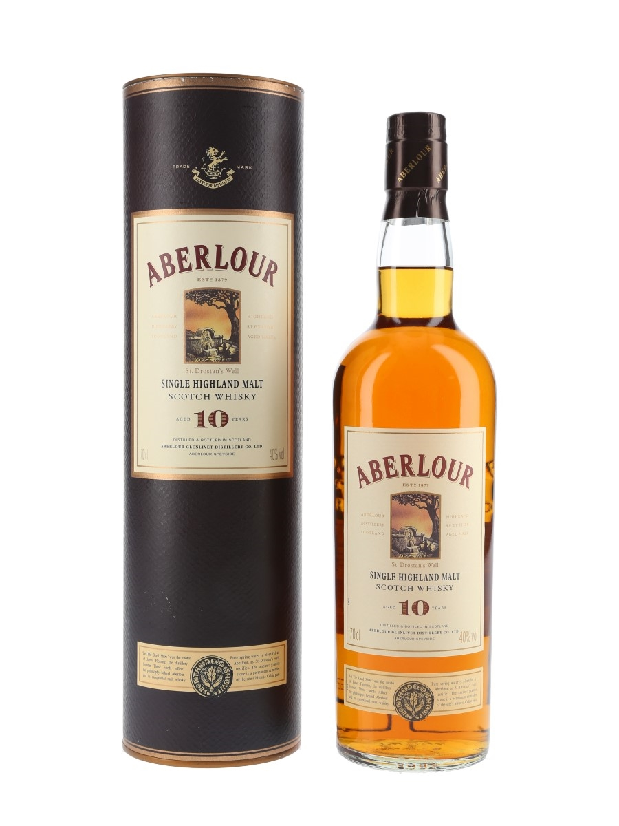 Aberlour 10 Year Old Bottled 1990s 70cl / 40%