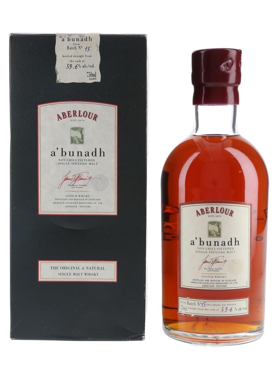 Aberlour A'bunadh Batch 15  75cl / 59.6%