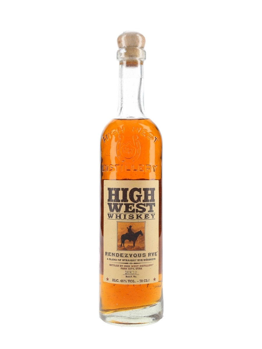 High West Rendezvous Rye Batch No. 19K12 70cl / 46%