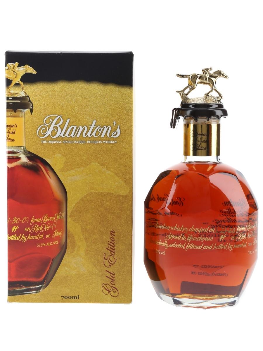 Blanton's Gold Edition Barrel No. 528 Bottled 2020 70cl / 51.5%
