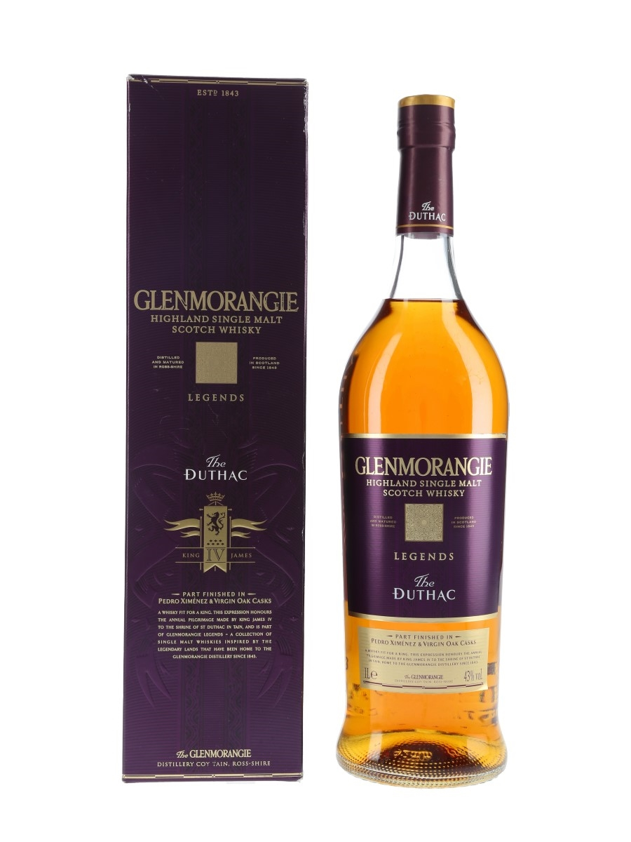 Glenmorangie Legends The Duthac  100cl / 43%