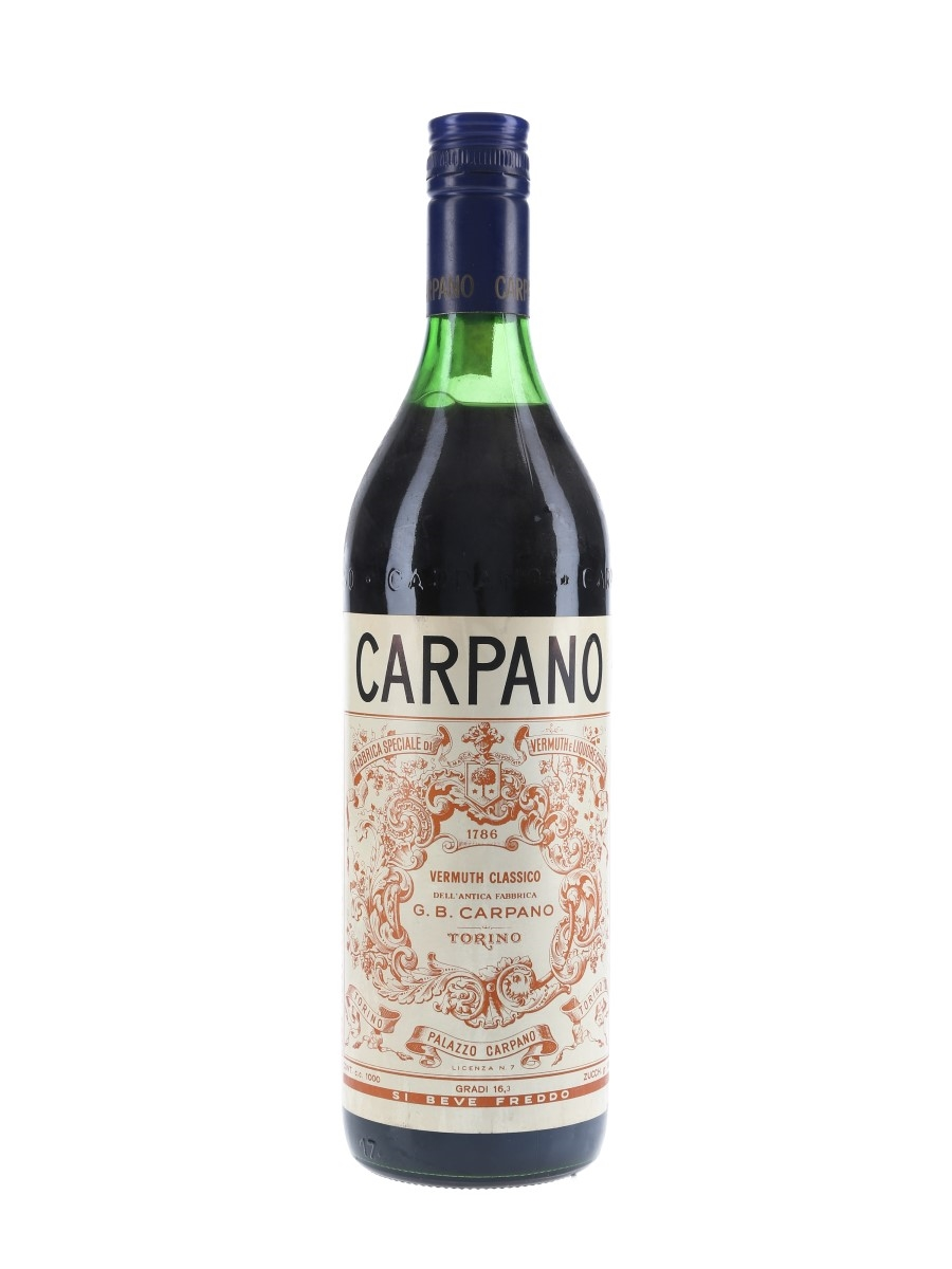 Carpano Vermuth Bottled 1960s 100cl / 16.3%