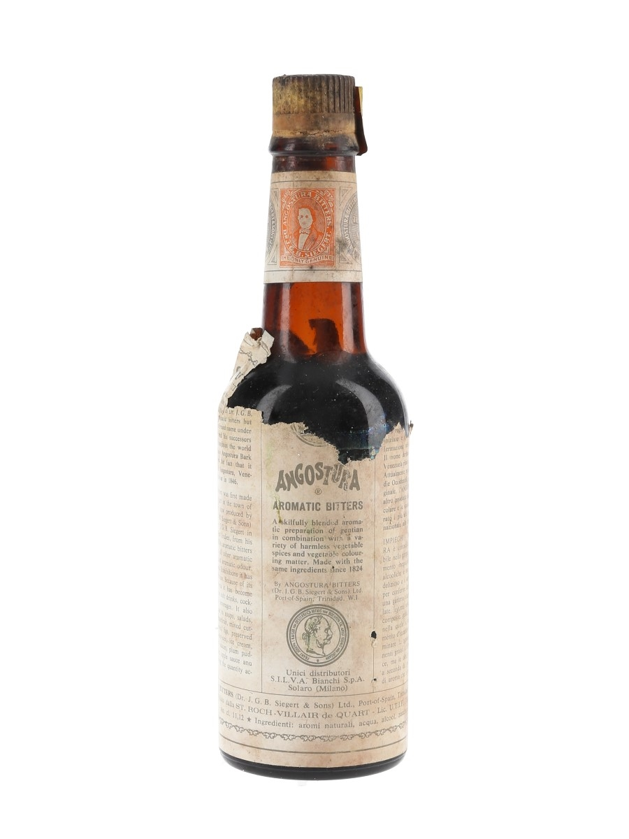 Angostura Aromatic Bitters Bottled 1970s 25cl / 44.5%
