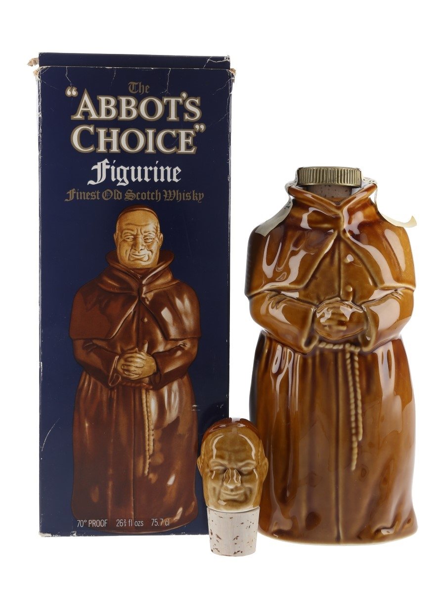 Abbot's Choice Figurine Bottled 1970s 75.7cl / 40%