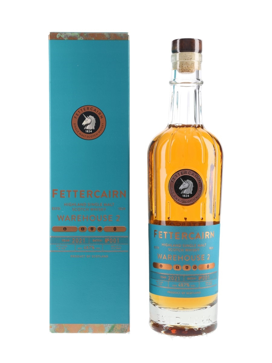 Fettercairn 2010 Warehouse 2 Bottled 2021 - Batch No.001 70cl / 49.7%