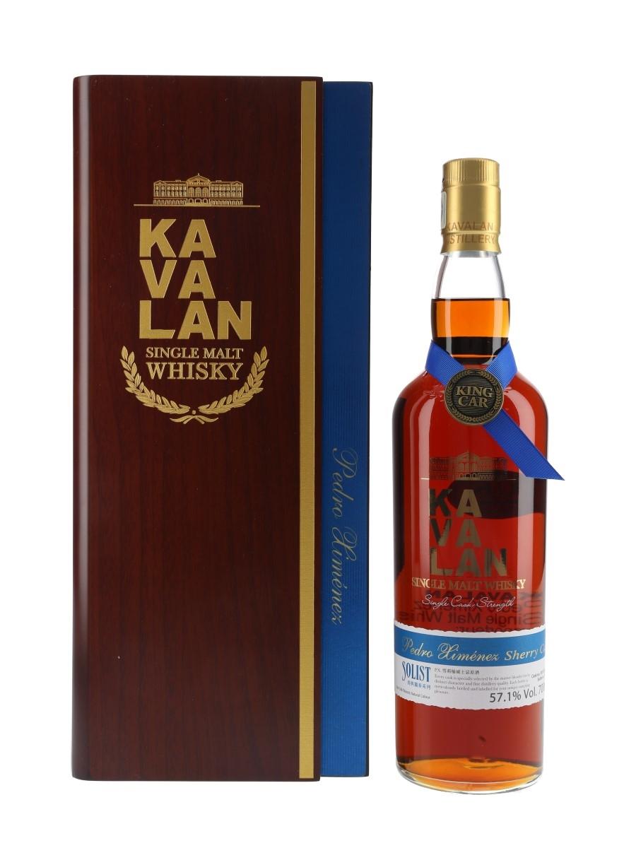 Kavalan Solist Pedro Ximenez Cask Distilled 2011, Bottled 2016 70cl / 57.1%