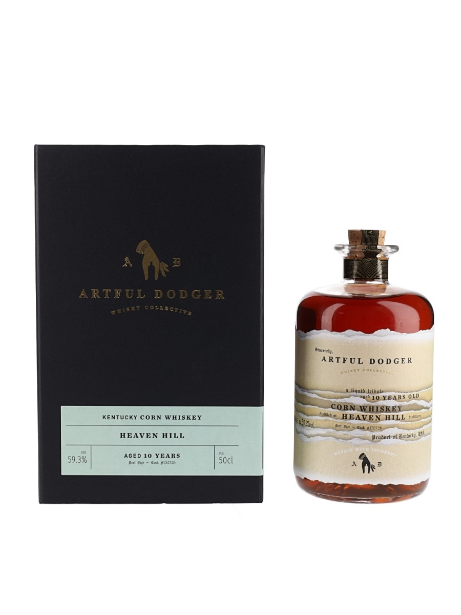 Heaven Hill 2009 10 Year Old Bottled 2019 - Artful Dodger 50cl / 59.3%