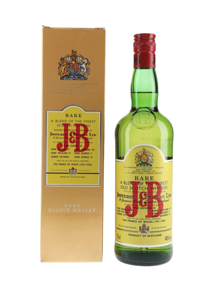 J & B Rare Bottled 1980s 75cl / 40%