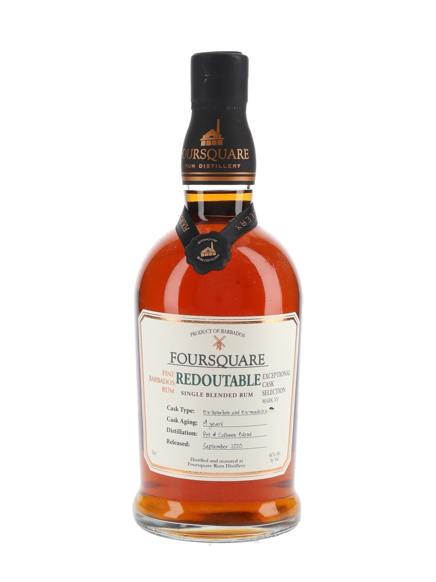 Foursquare Redoutable 14 Year Old Bottled 2020 - Exceptional Cask Selection Mark XV 70cl / 61%