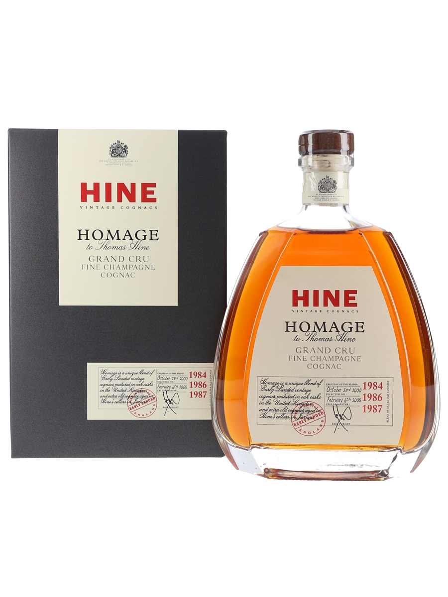 Hine Homage 1984, 1986 & 1987 100cl / 40%