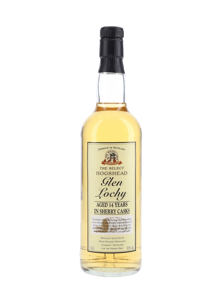 Glenlochy 14 Year Old Bottled 1990s - The Whisky Shop 70cl / 50%