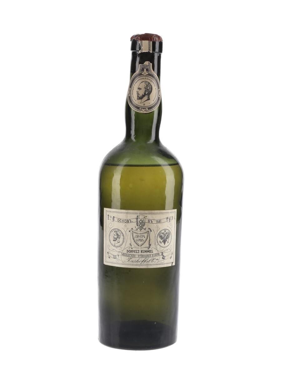 Kaskoff Doppelt Kummel Bottled 1940s 60cl