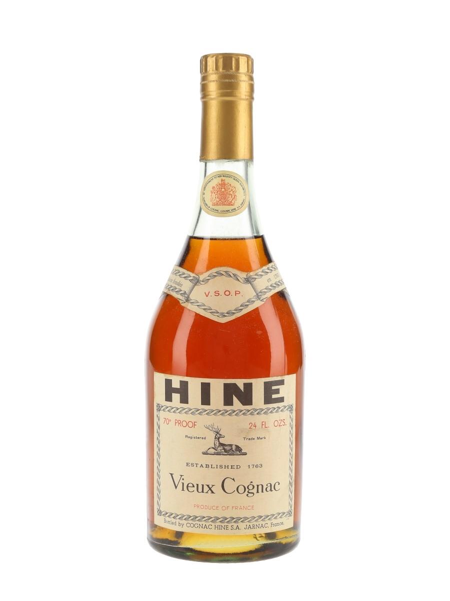 Hine VSOP Vieux Cognac Bottled 1960s 68cl / 40%