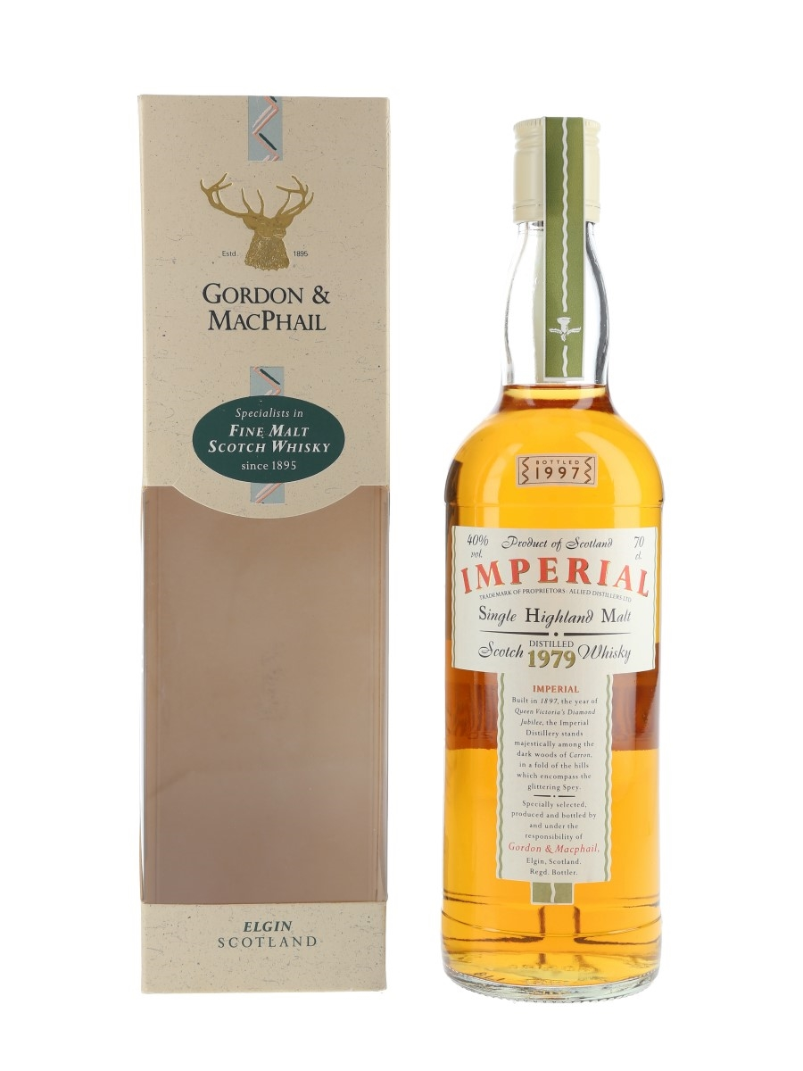 Imperial 1979 Bottled 1997 - Gordon & MacPhail 70cl / 40%