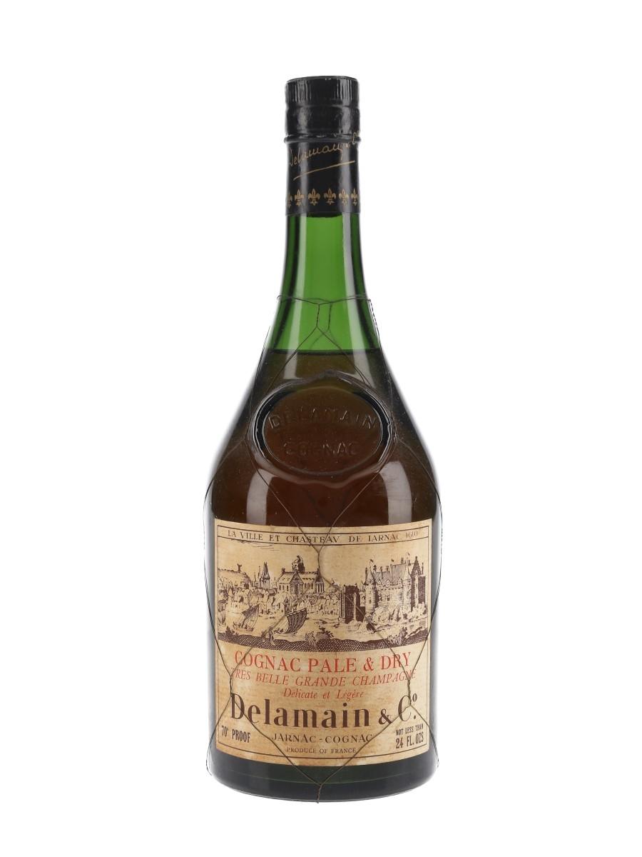 Delamain Pale & Dry Cognac Bottled 1960s 68cl / 40%