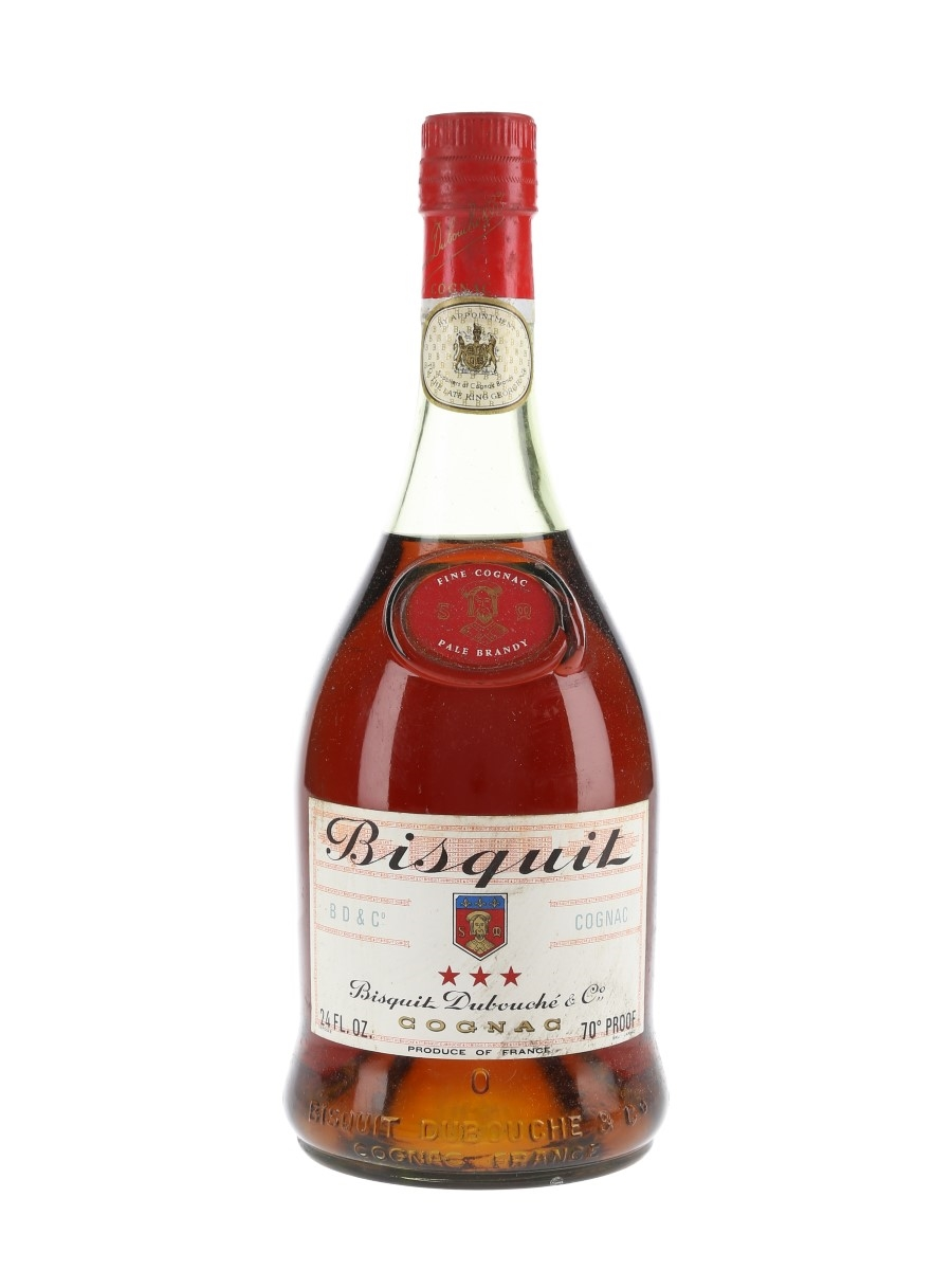 Bisquit 3 Star Bottled 1960s 68cl / 40%