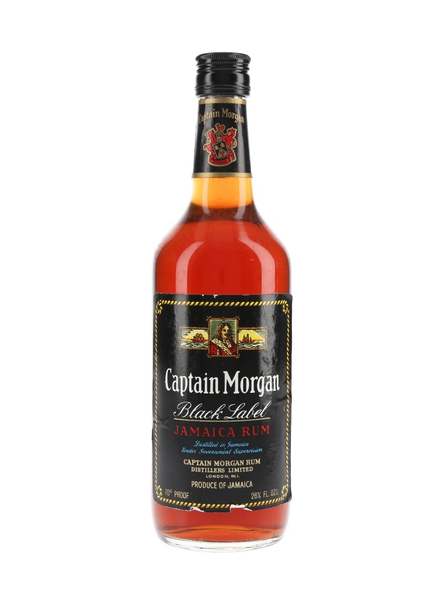 Captain Morgan Black Label Bottled 1960s-1970s 75.7cl / 40%