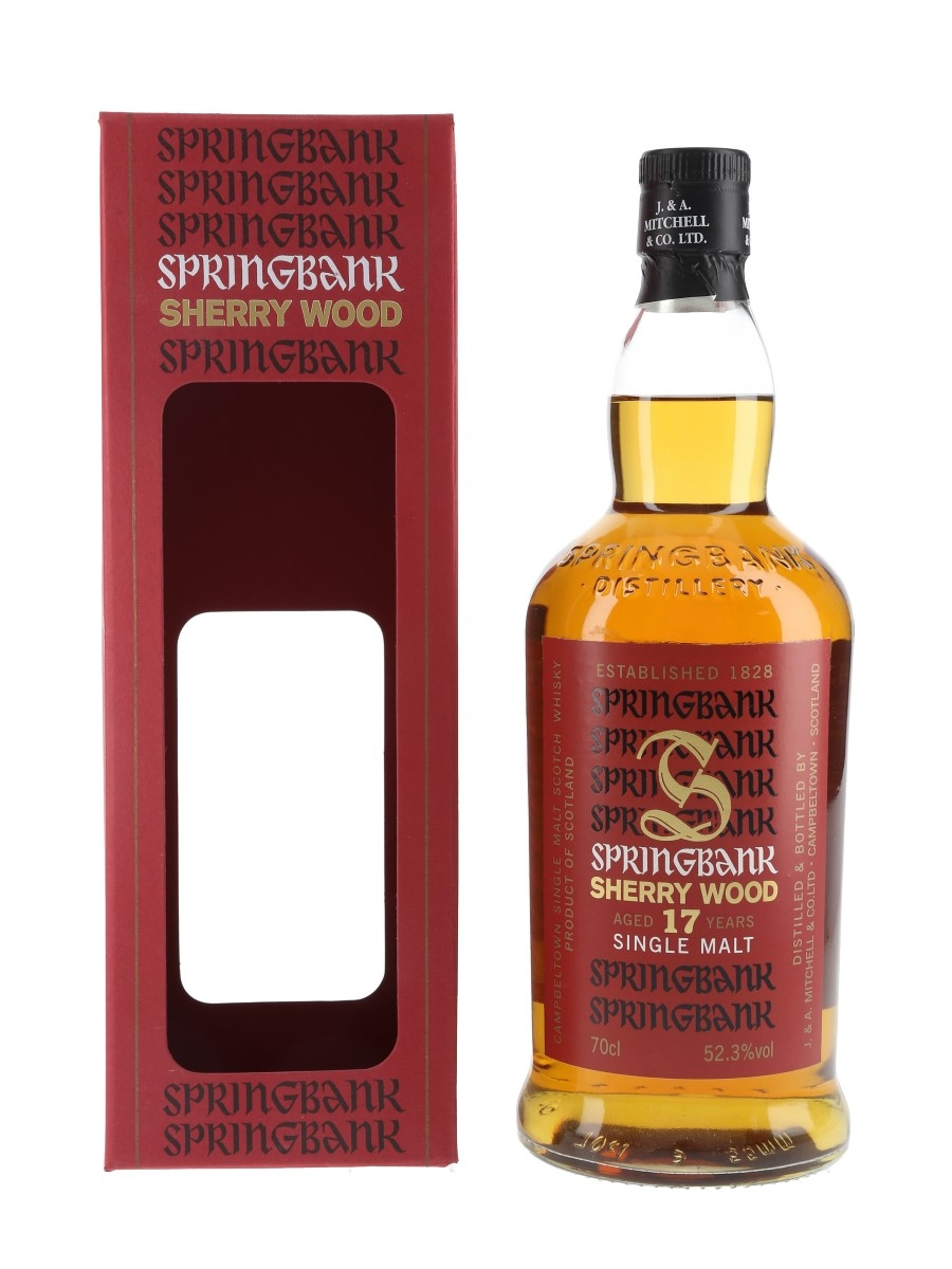 Springbank 1997 17 Year Old Sherry Wood Bottled 2015 70cl / 52.3%