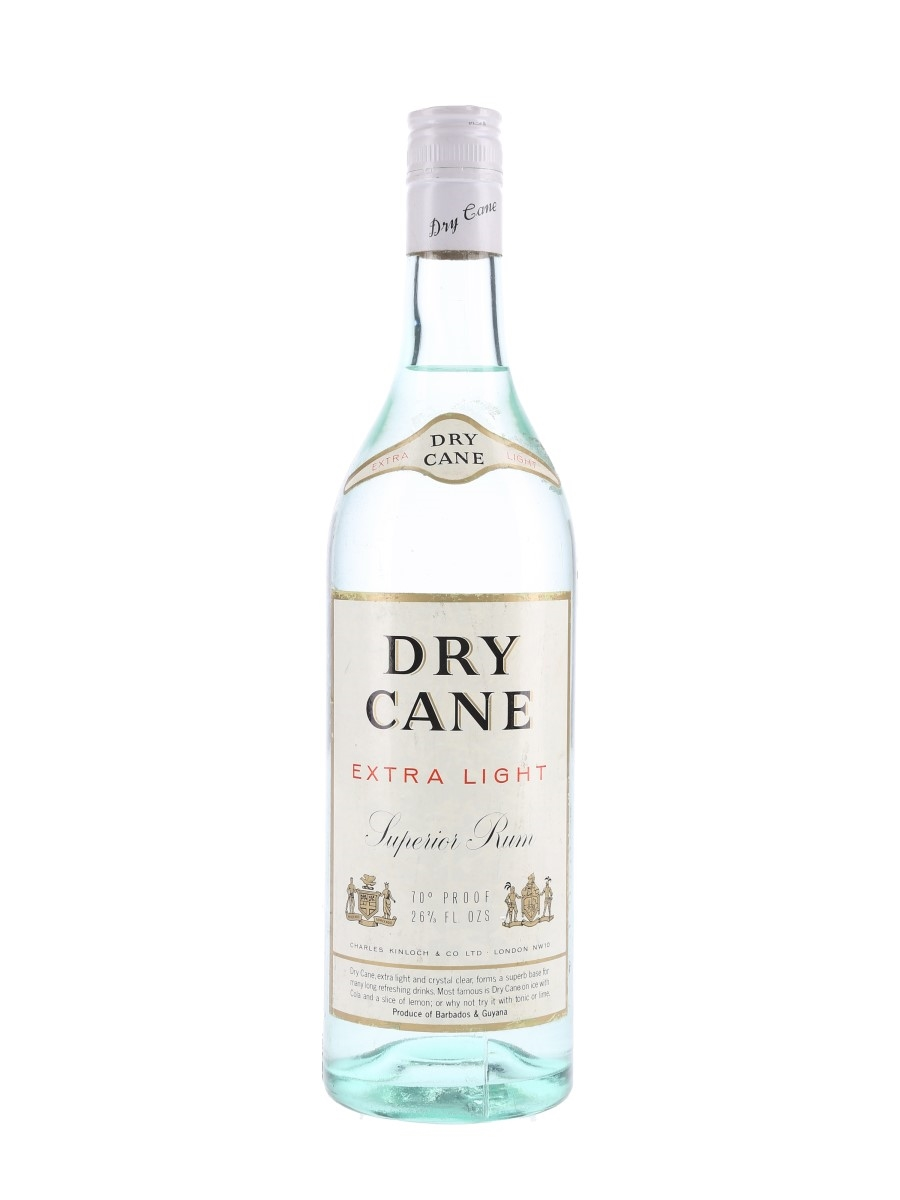 Dry Cane Extra Light Rum Bottled 1970s 75.7cl / 40%