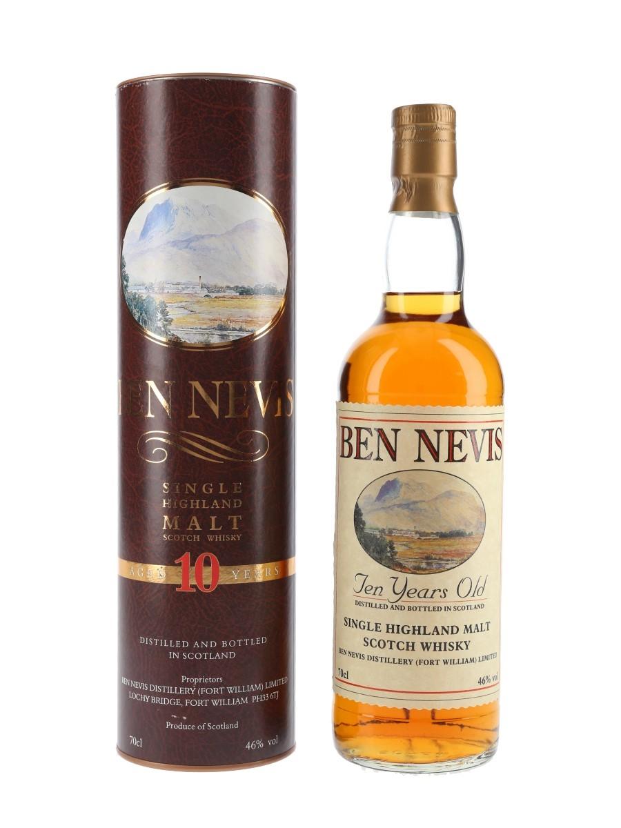 Ben Nevis 10 Year Old Bottled 1990s 70cl / 46%
