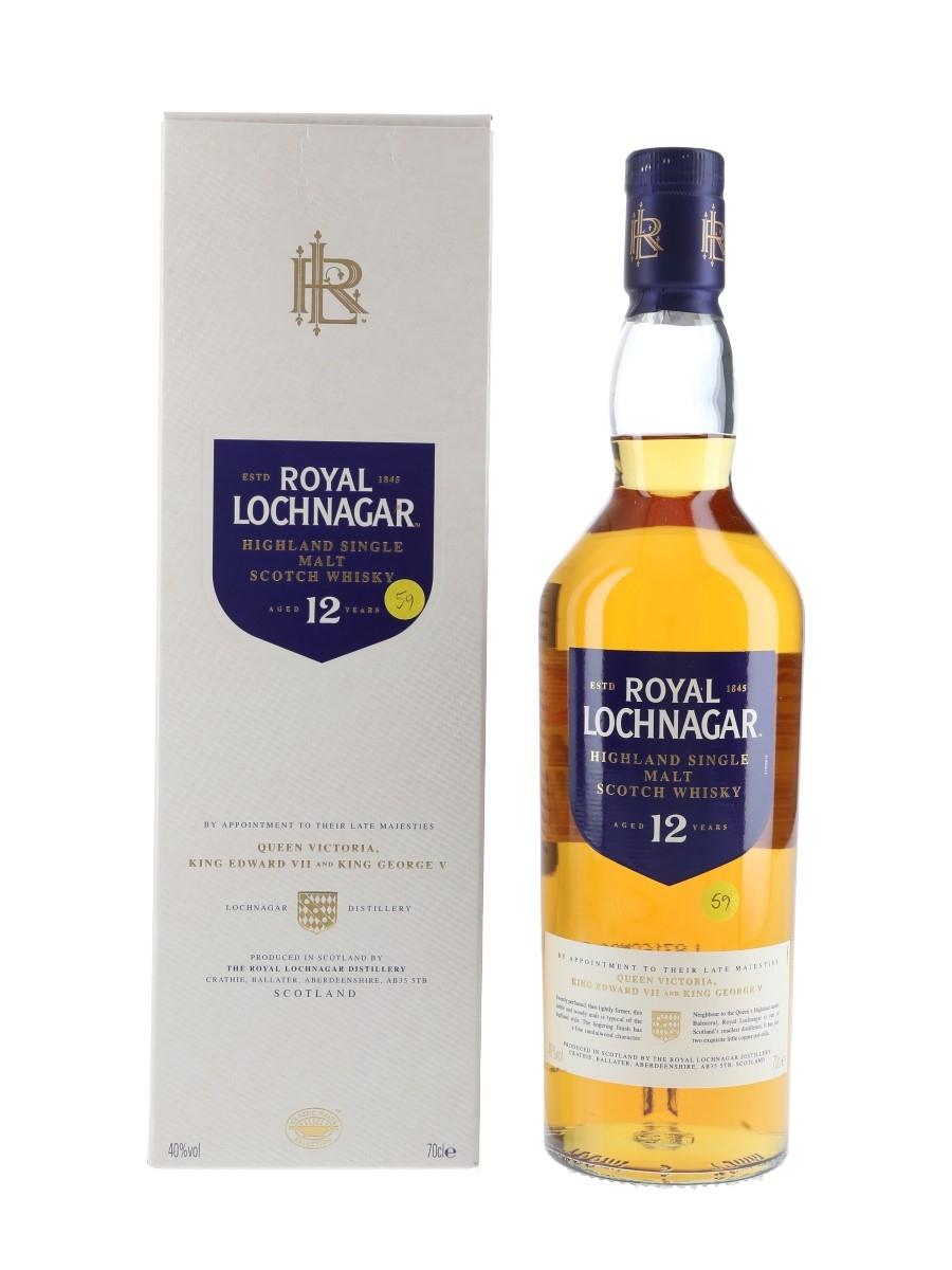 Royal Lochnagar 12 Year Old  70cl / 40%
