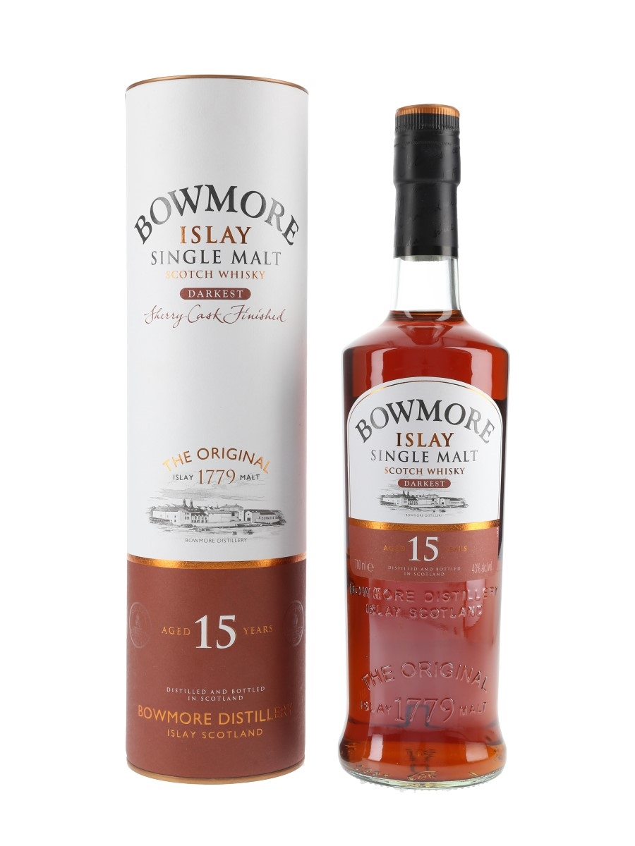 Bowmore 15 Year Old Darkest Sherry Cask Finished 70cl / 43%