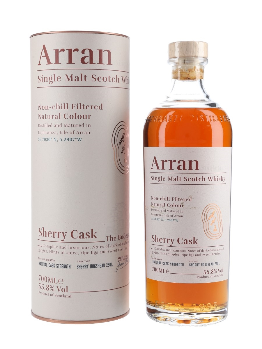 Arran Sherry Cask  70cl / 55.8%