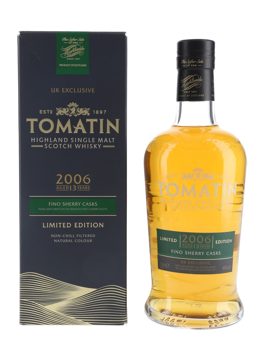Tomatin 2006 13 Year Old UK Exclusive 70cl / 46%