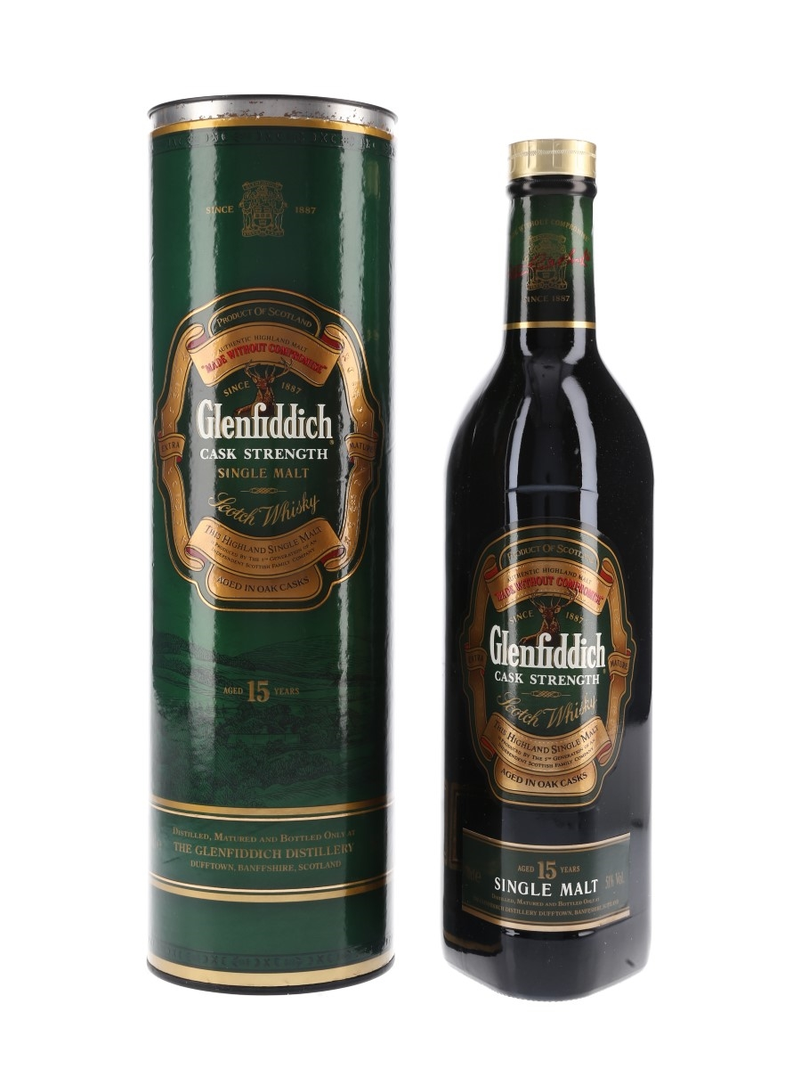 Glenfiddich 15 Year Old Cask Strength  70cl / 51%