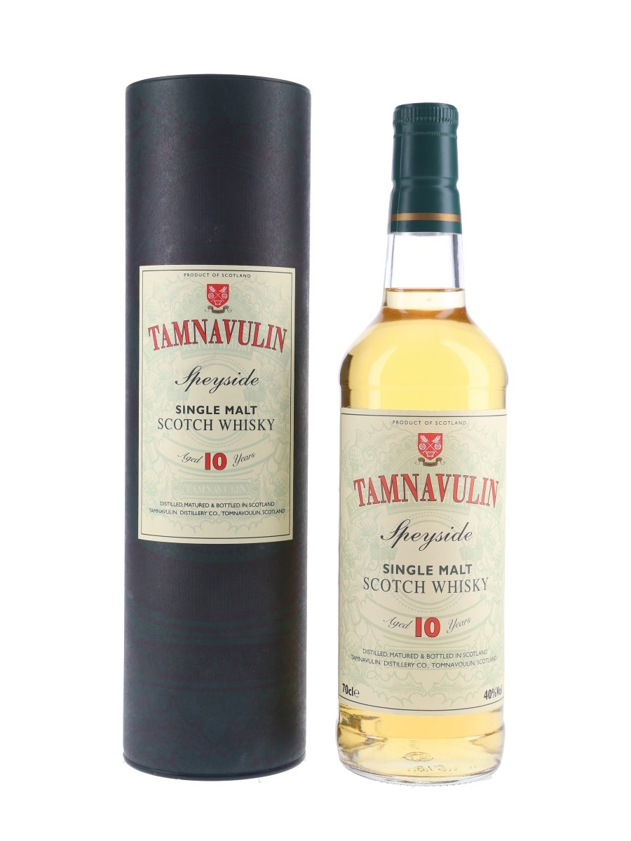 Tamnavulin 10 Year Old Bottled 1990s 70cl / 40%