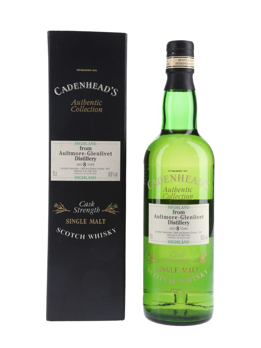 Aultmore Glenlivet 1989 8 Year Old Bottled 1997 - Cadenhead's 70cl / 60.8%