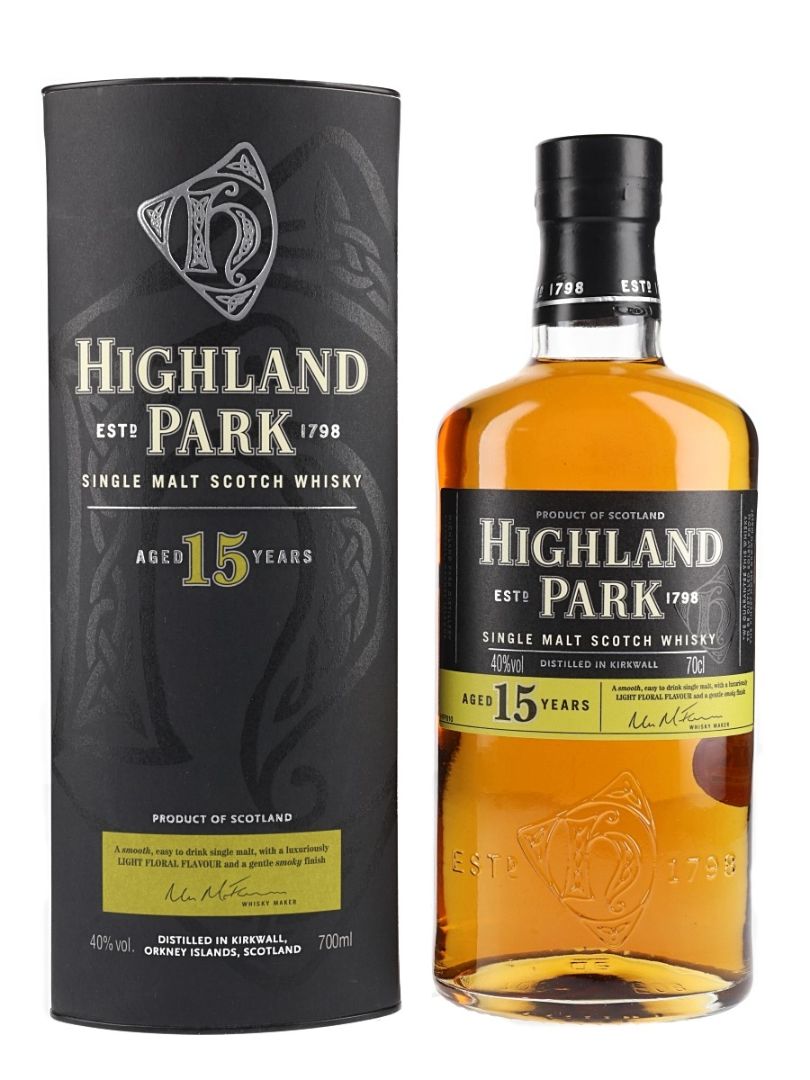 Highland Park 15 Year Old  70cl / 40%