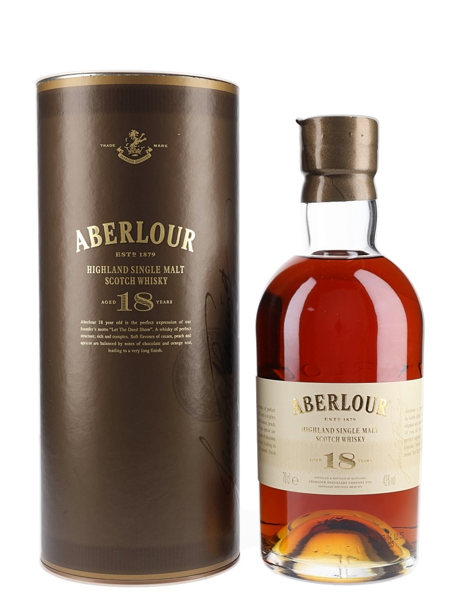 Aberlour 18 Year Old Bottled 2008 70cl / 43%