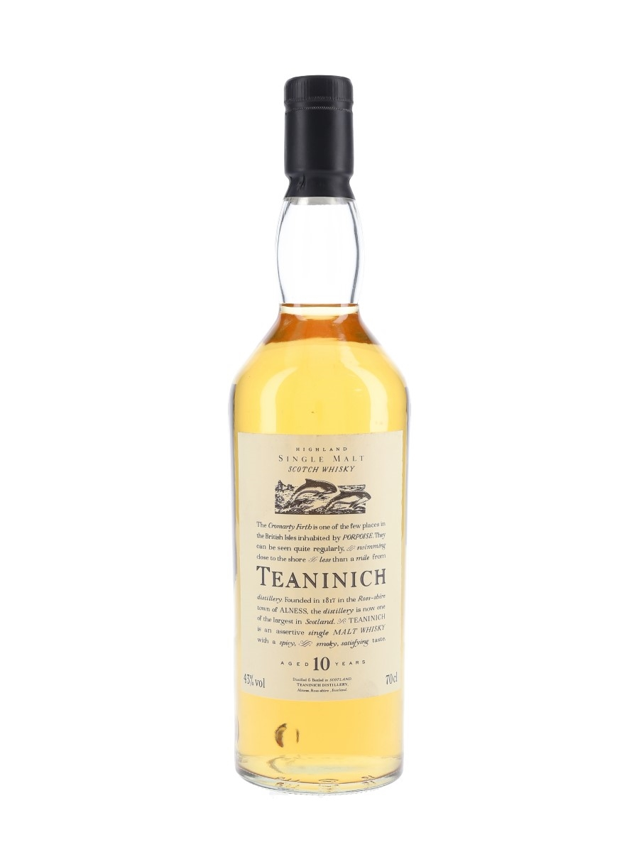 Teaninich 10 Year Old Flora & Fauna 70cl / 43%