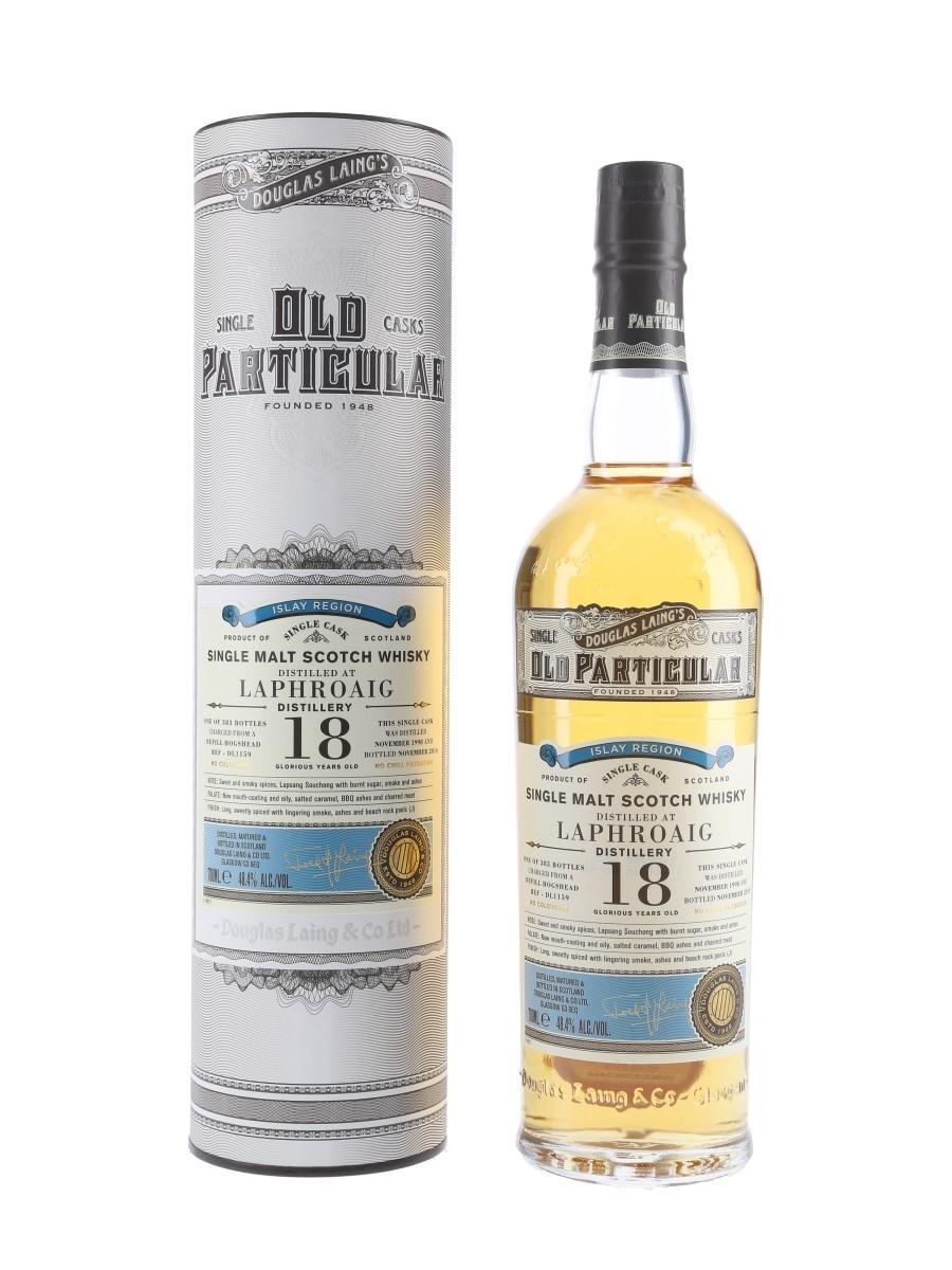 Laphroaig 1998 18 Year Old Bottled 2016 - Douglas Laing's Old Particular 70cl / 48.4%