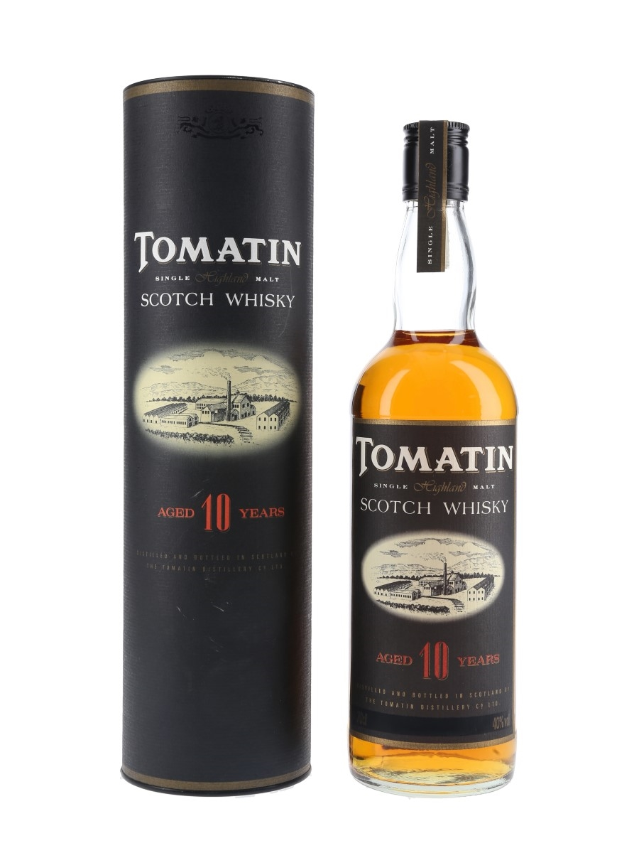 Tomatin 10 Year Old Bottled 1990s 70cl / 40%
